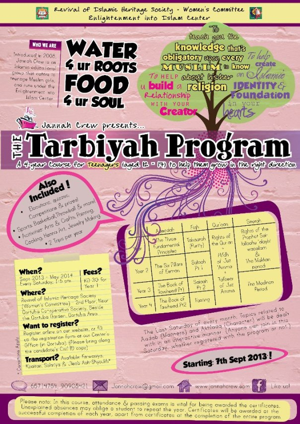 Tarbiya Program (Teenage Girls)