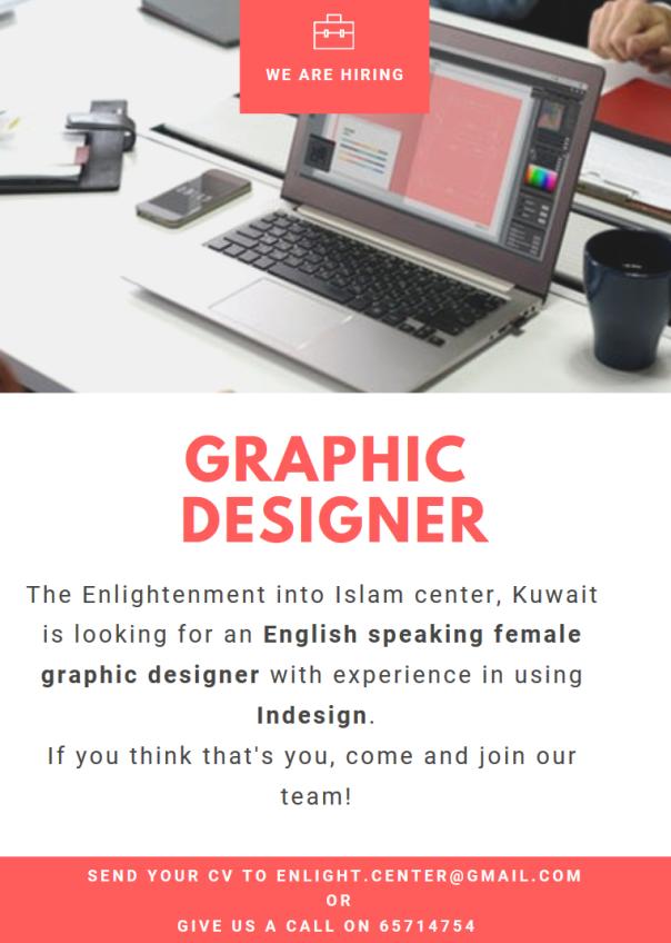 Graphic Designer Job ad